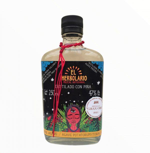 Mezcal Artesanal Tobalá Destilado con Piña Único