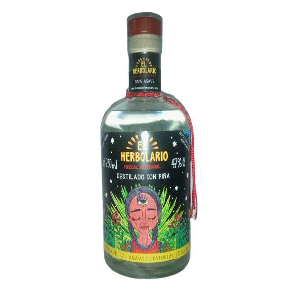 Mezcal Artesanal Tobalá Destilado Piña 750 ml